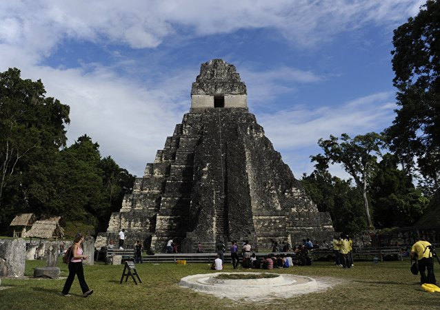 Maya piramidi - Gran Jaguar