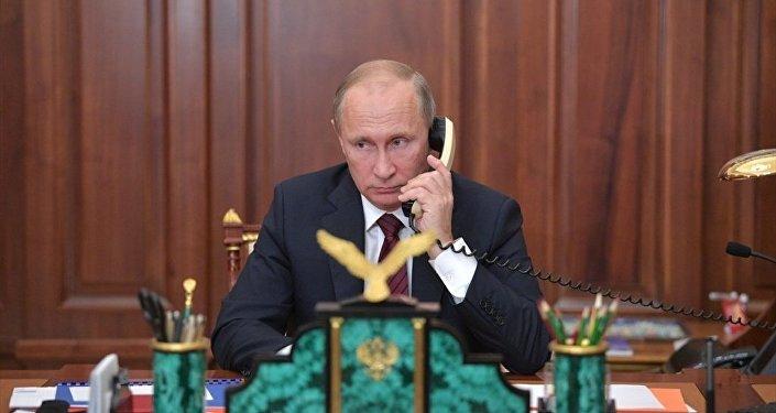 Rusya Devlet Başkanı Vladimir Putin - telefon