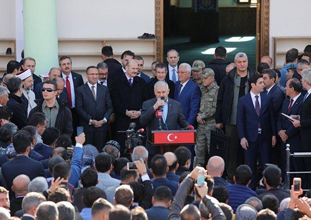 Başbakan Binali Yıldırım Şırnak'ta