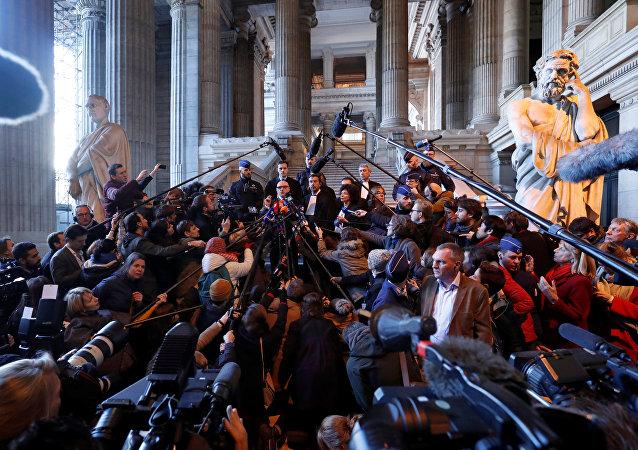 Katalan siyasetçiler - Mahkeme - Belçika