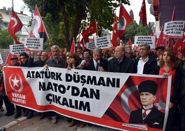 Vatan Partisi'nden NATO eylemi