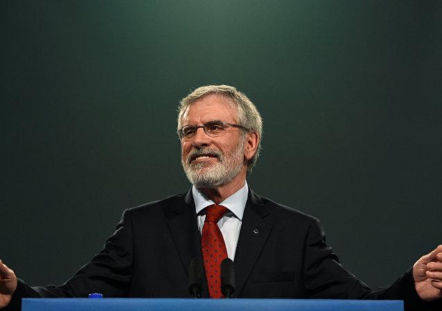 Sinn Fein Genel Başkanı Gerry Adams