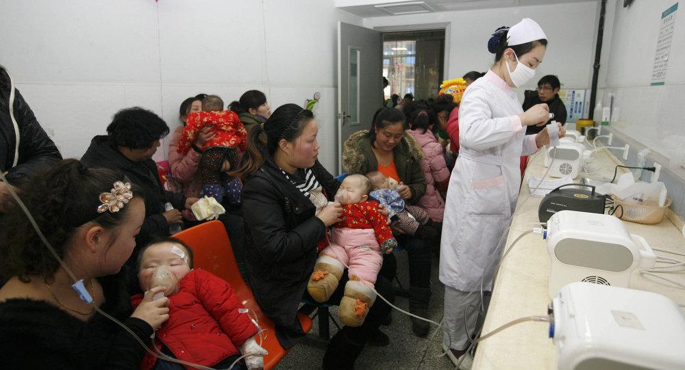 Hastane - Çin - 2013