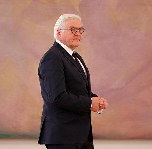 Almanya Devlet Başkanı Frank Walter Steinmeier