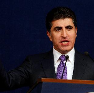 Irak Kürt Bölgesel Yönetimi (IKBY) Başbakanı Neçirvan Barzani