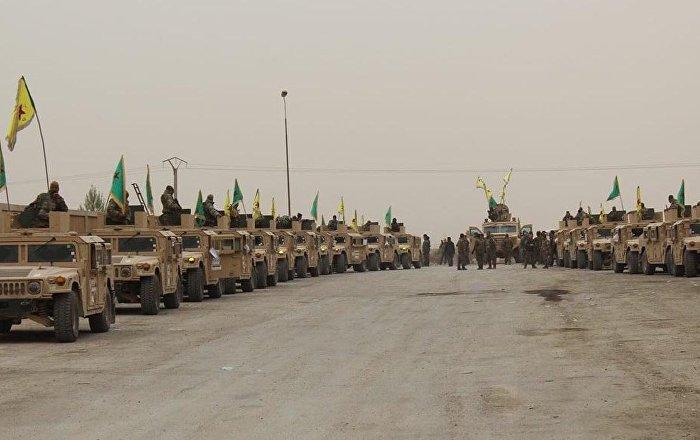 ABD, Deyr ez Zor'daki petrol bölgesinde tam teşekküllü askeri üs kuruyor