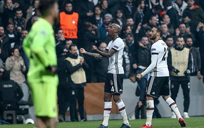 Beşiktaş, Şampiyonlar Ligi grubundan lider olarak çıkmayı garantiledi
