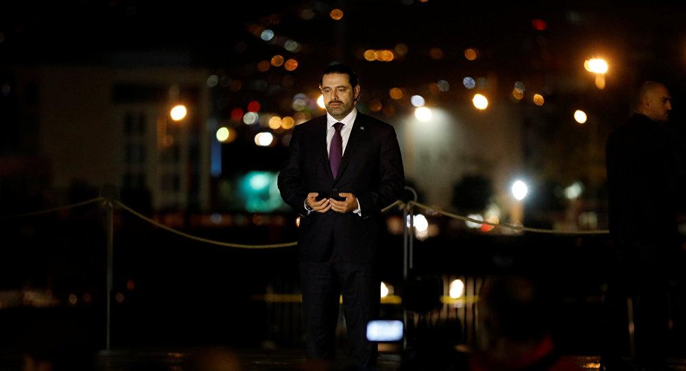 Lübnan'a dönen Saad Hariri, babası Refik Hariri'nin Beyrut'taki mezarını ziyaret etti