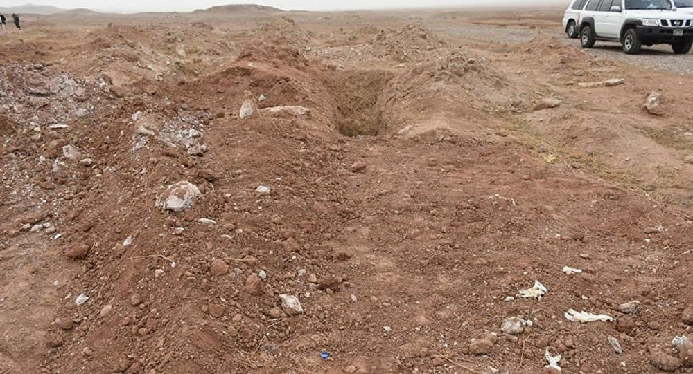 Kerkükte asker ve polis cesetlerinin yer aldığı toplu mezar bulundu 10