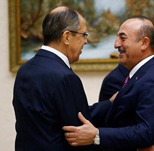 Dışişleri Bakanı Mevlüt Çavuşoğlu ve Rusya Dışişleri Bakanı Sergey Lavrov