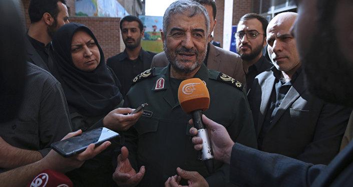 İran Devrim Muhafızları Komutanı Muhammed Ali Caferi