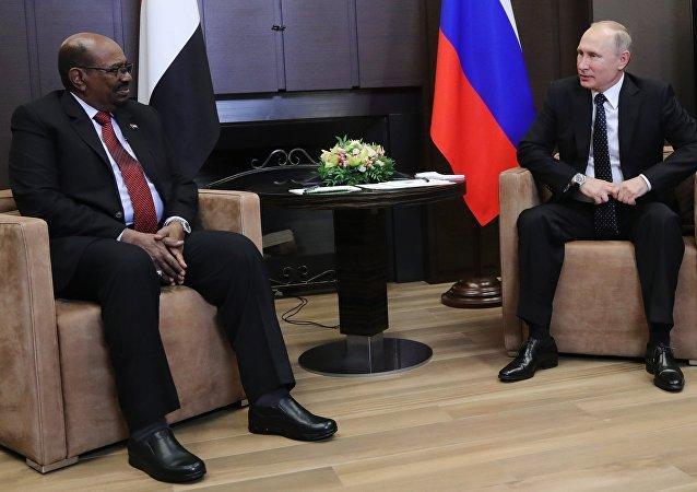 Sudan Devlet Başkanı Ömer Beşir- Rusya Devlet Başkanı Vladimir Putin