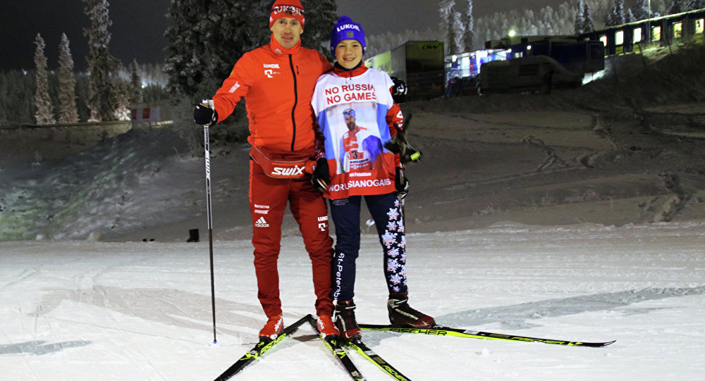 Roman Starkov ve Maxim Vylegzhanin