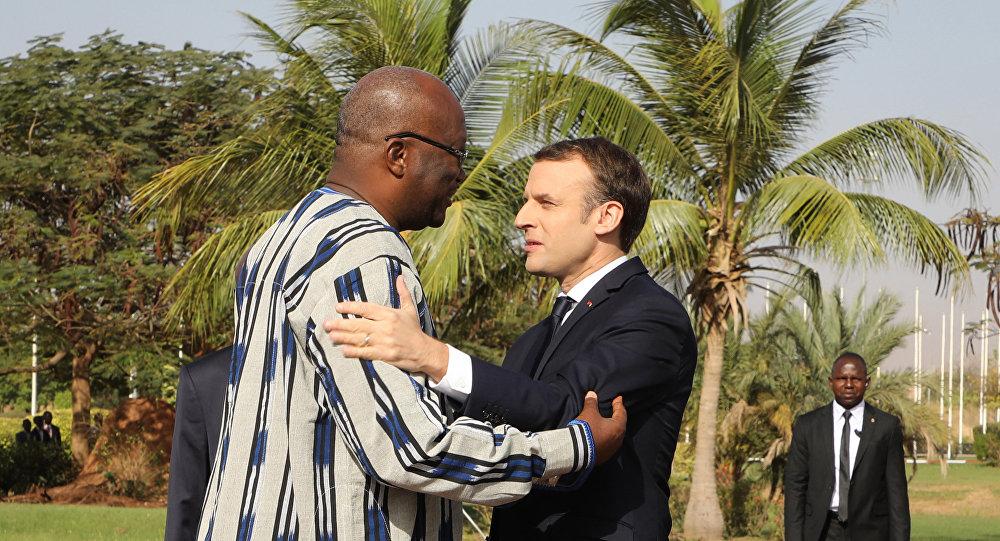 Macron Burkina Faso Roch