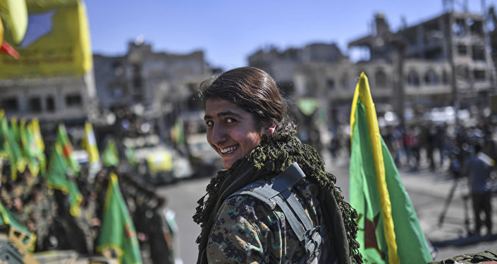 ABD Kürt YPG Rakka