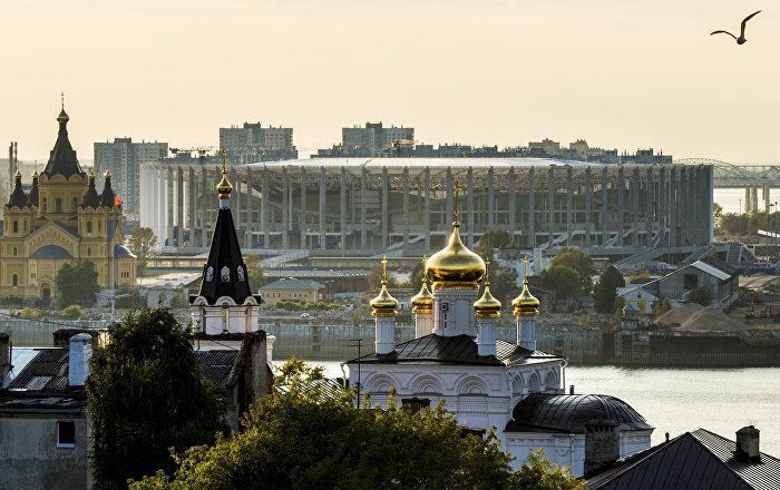 Dünya Kupası'na ev sahipliği yapacak Nijniy Novgorod'un çehresi değişiyor