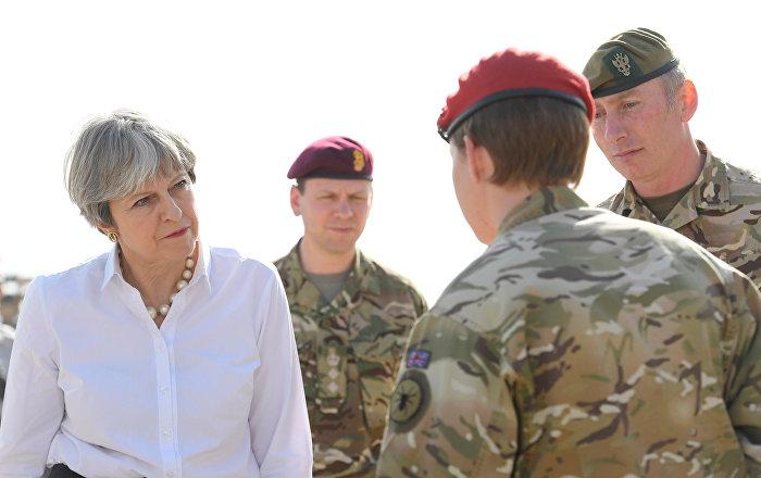 İngiltere başbakanı May'den Irak'a gizli ziyaret