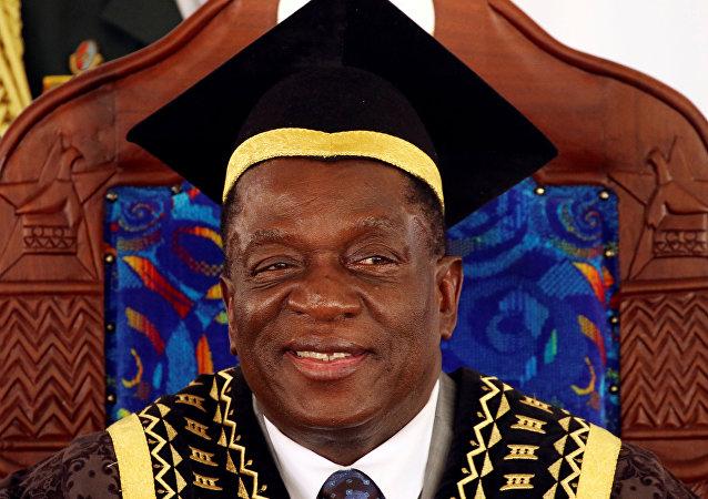 Zimbabve Devlet Başkanı Emmerson Mnangagwa