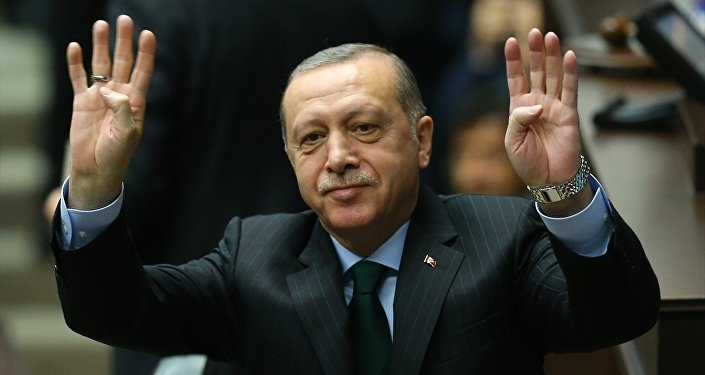 Cumhurbaşkanı ve AK Parti Genel Başkanı Recep Tayyip Erdoğan