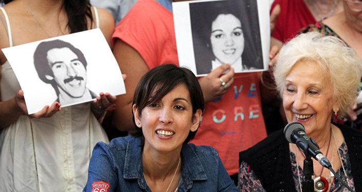 Arjantin kayıp bebekler 126. torun Adriana