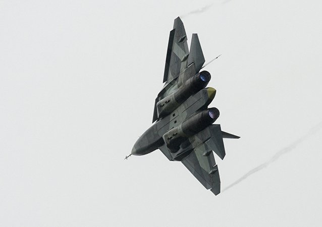 Rus Su-57 avcı uçağı