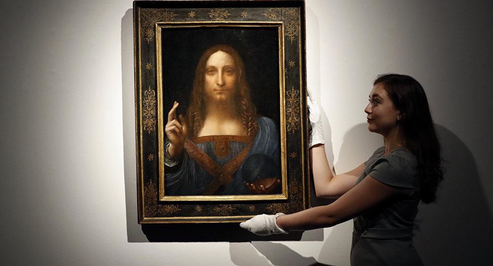 Leonardo da Vinci- Salvator Mundi