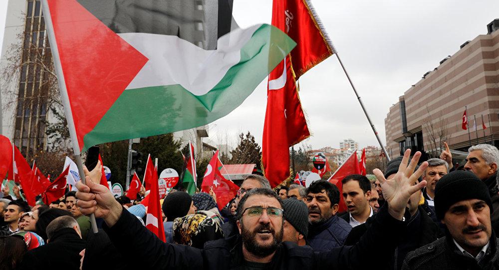 ankara abd protesto