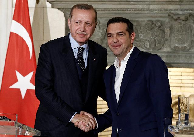 Atina ziyareti Erdoğan Çipras