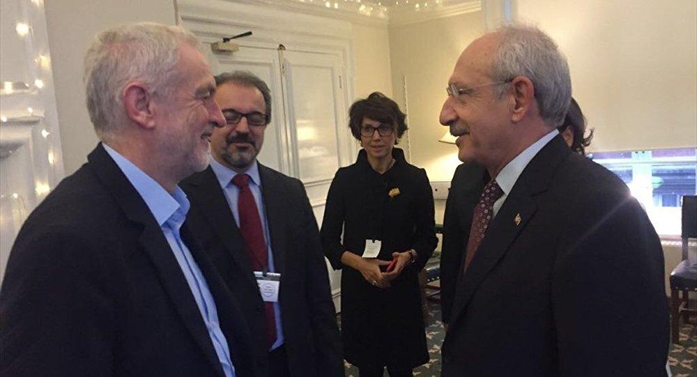 Kılıçdaroğlu Corbyn