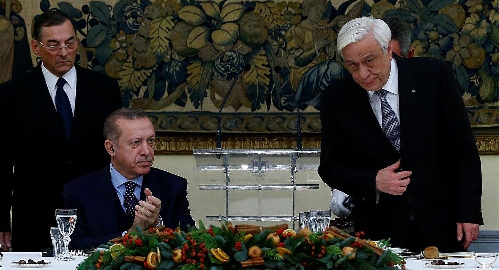 Cumhurbaşkanı Recep Tayyip Erdoğan - Yunanistan Cumhurbaşkanı Prokopis Pavlopulos