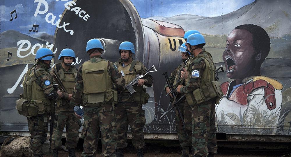BM Kongo barış gücü Monusco