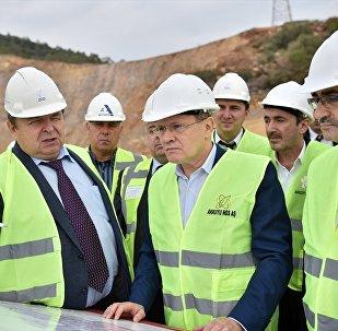 Akkuyu Nükleer Santrali'nin temel atma töreni yapıldı