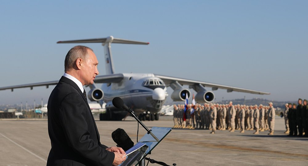 Rusya Devlet Başkanı Vladimir Putin- Suriye