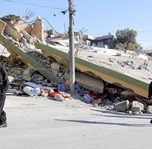 Irak Kürdistan Süleymaniye Derbendihan deprem