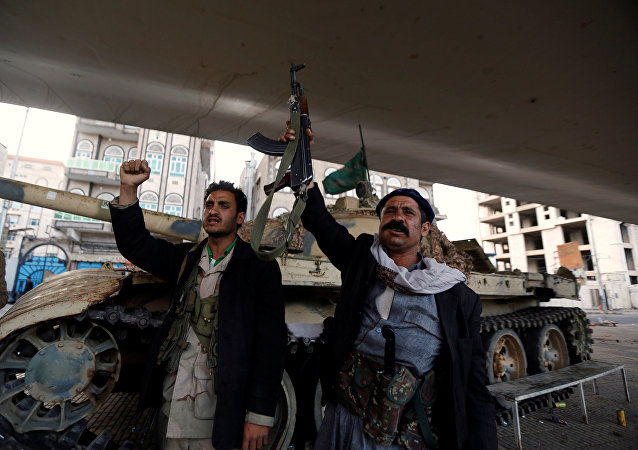 Yemen Husi milisler