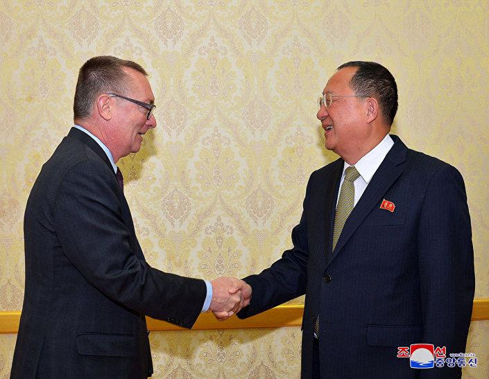 Bir BM yetkilisi 6 yıl sonra ilk kez Kuzey Korede