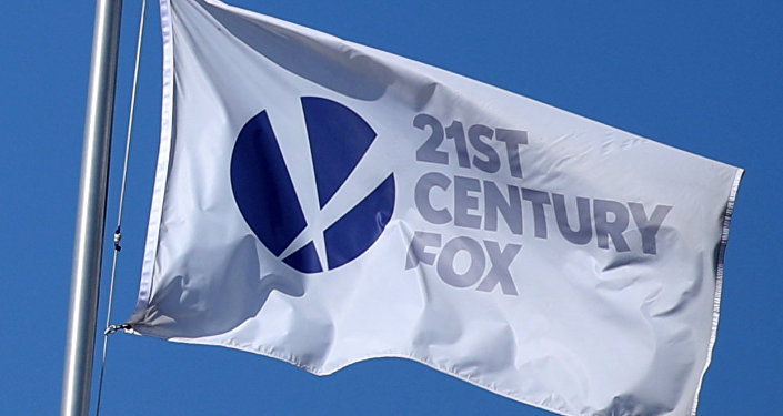 The Twenty-First Century Fox Studios bayrağı Los Angeles