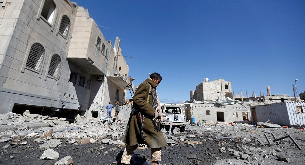Suudi Arabistan öncülüğündeki koalisyon Sana'da Husiler'in kontrolündeki cezaevi merkezini vurdu