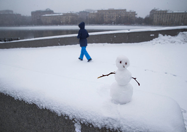 Rusya - Kar - Kardan Adam