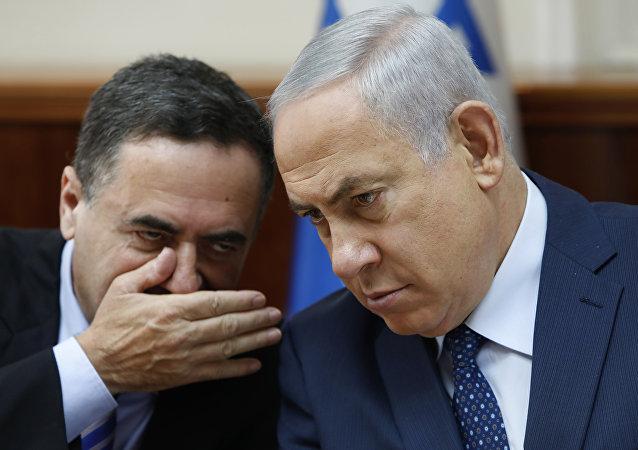 Benyamin Netanyahu Yisrael Katz