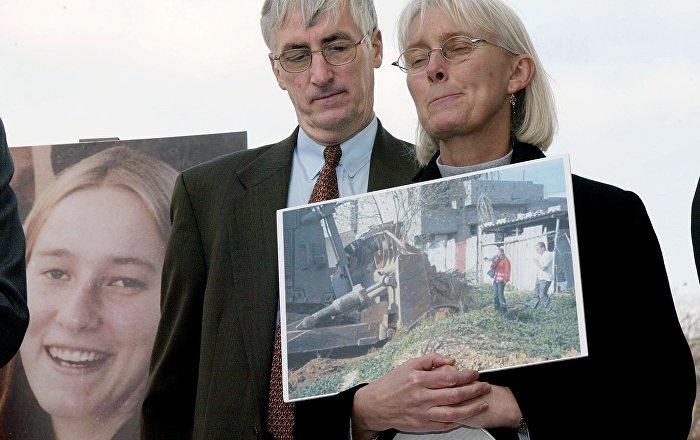 Caterpillar'dan 'Rachel Corrie' casusluğu