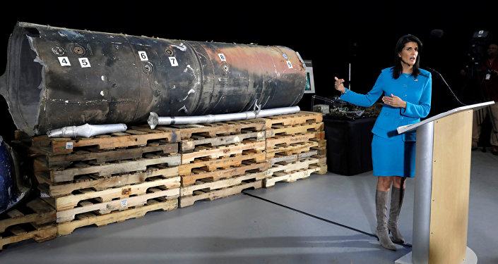 ABD'nin Birleşmiş Milletler (BM) Daimi Temsilcisi Nikki Haley