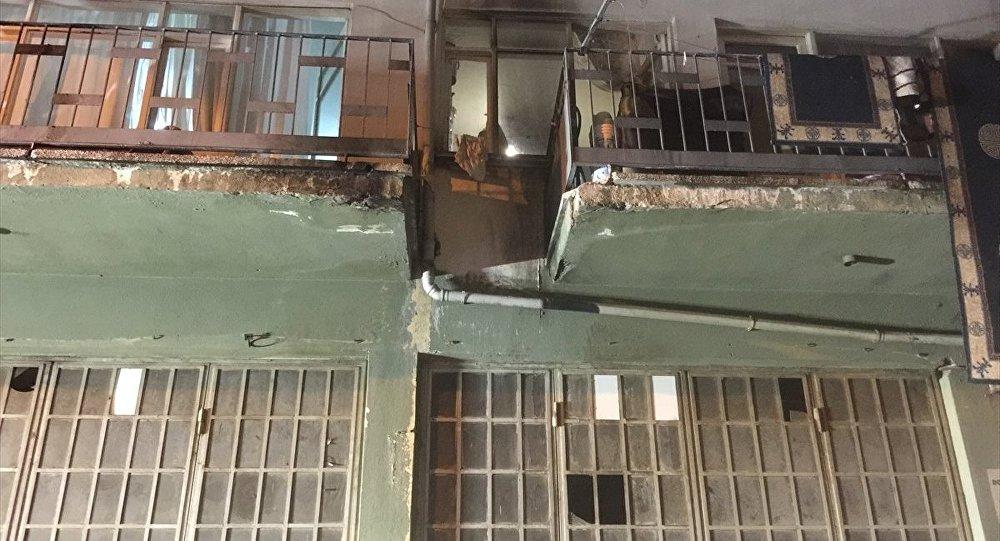 Suriyeli ailenin evine molotoflu saldırı