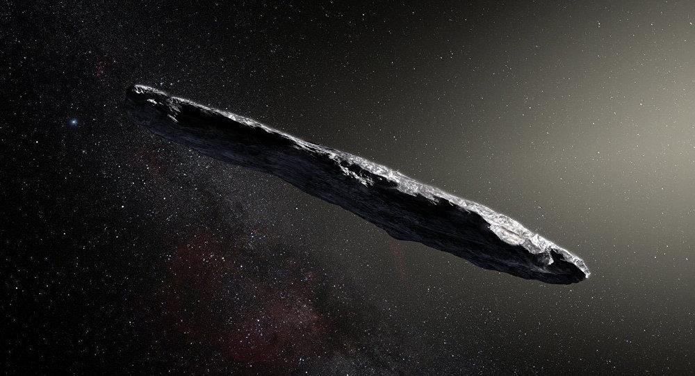 Oumuamua asteroidi