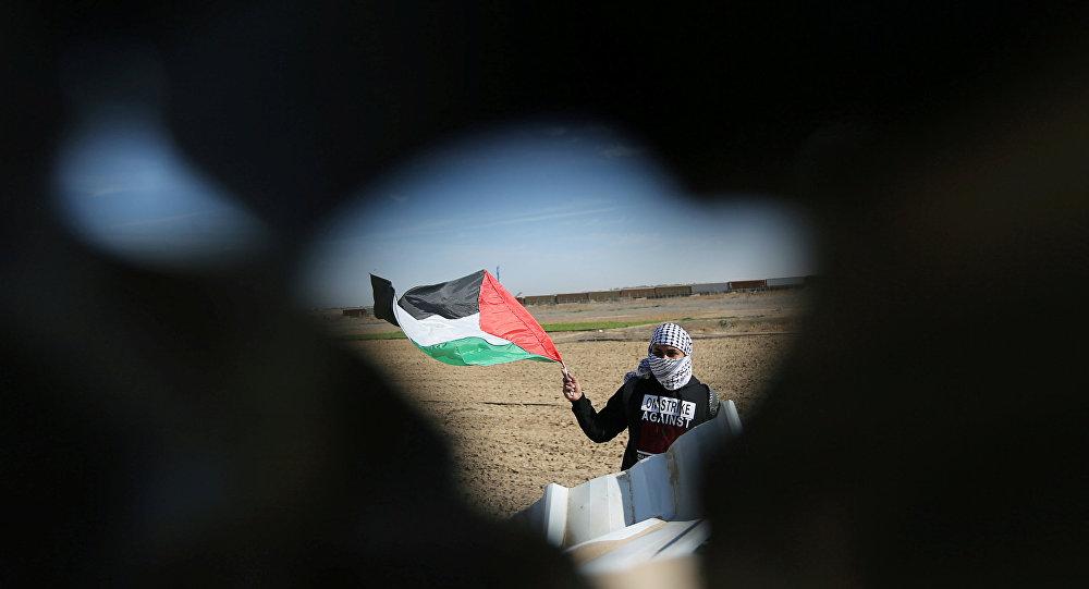 Filistin bayrağı - Gazze