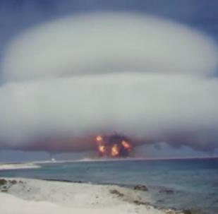 ABD'deki nükleer denemelerin görüntüleri yayınlandı