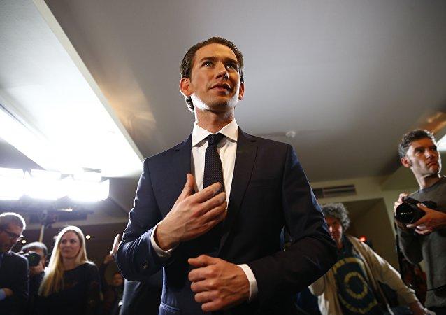 Merkez sağ Avusturya Halk Partisi lideri Dışişleri ve Entegrasyon Bakanı Sebastian Kurz