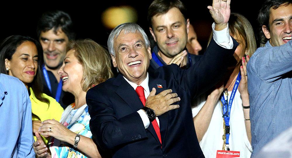 Sebastian Pinera seçim zaferi
