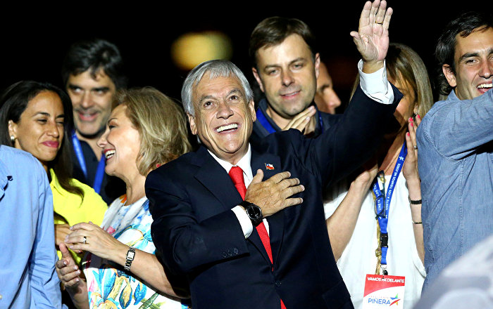 Pinera, yeniden Şili devlet başkanı