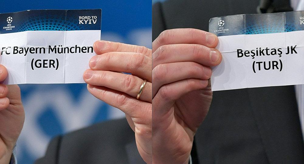 UEFA Şampiyonlar Ligi'nde Beşiktaş'ın rakibi Bayern Münih